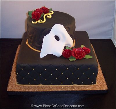 a phantom cake pretty cakes pinterest. Black Bedroom Furniture Sets. Home Design Ideas