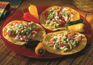 Tofu Tostadas | Tasty Snacks n' Appetizers | Pinterest