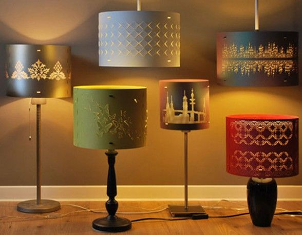 Cool lamps and lamp shades by serien are fun captivatist - Cool lamp shade ...
