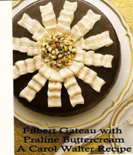 Filbert Gateau w/Praline Buttercream | Desserts - Cookies, Cakes, Cru ...