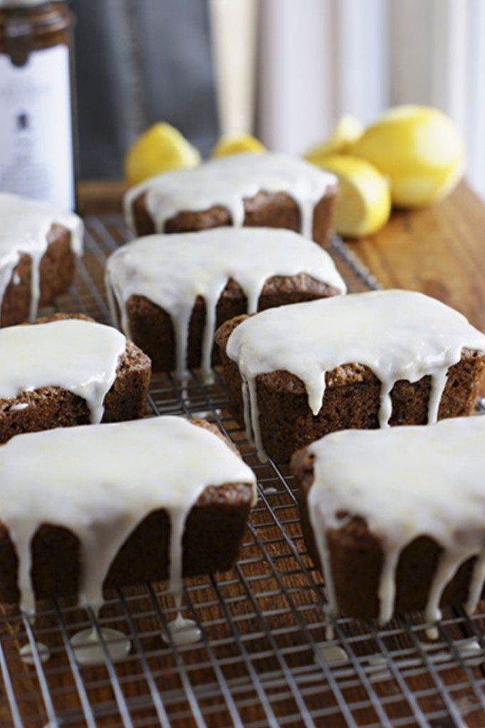 Fresh ginger loaves with lemon icing | Cakes and Cupcakes #3 | Pinter ...