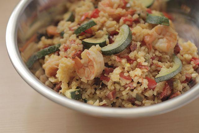 Shrimp and Chorizo Paella   Nanna's Cookbook   Pinterest
