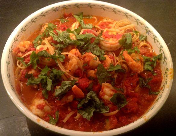 Shrimp Fra Diavolo with Linguine   Recipes   Pinterest