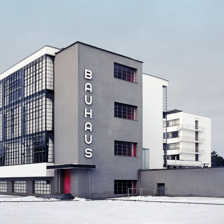 Bauhaus architecture pinterest for Architecture bauhaus