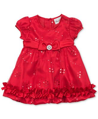 Rare editions toddler girls sequined holiday dress