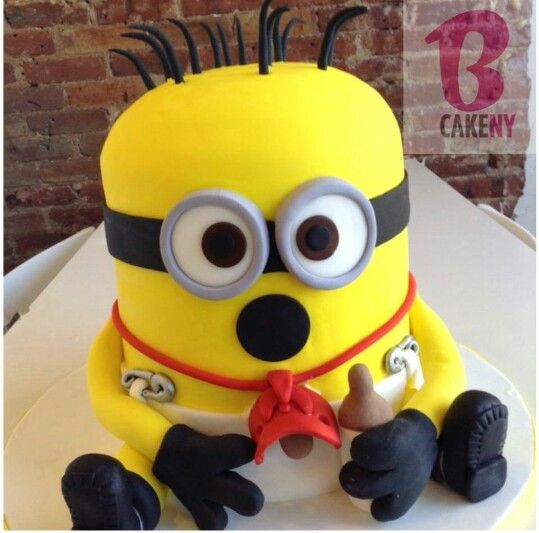minion baby shower cake baby moses 2014 maternity