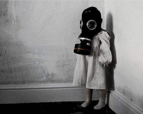 gas mask child