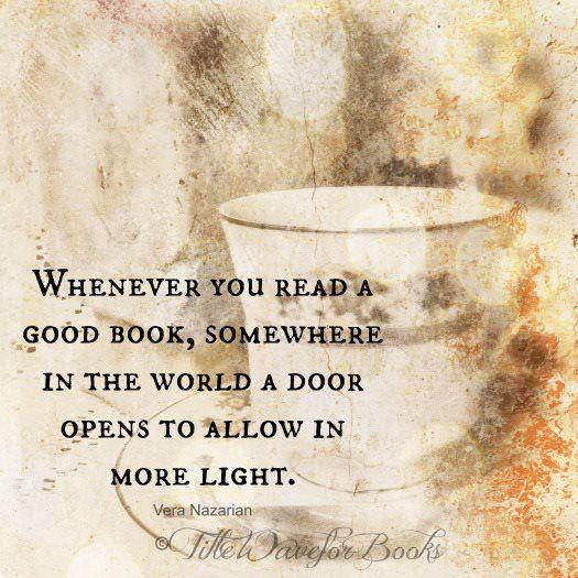A door opens...