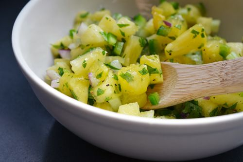 Spicy Pineapple Salsa | Sauces, Condiments, Spreads & Dressings | Pin ...