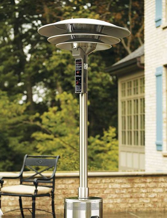Efficiently heat your parties that go late into the night with the Three Tier Commercial Stainless Steel Heater.