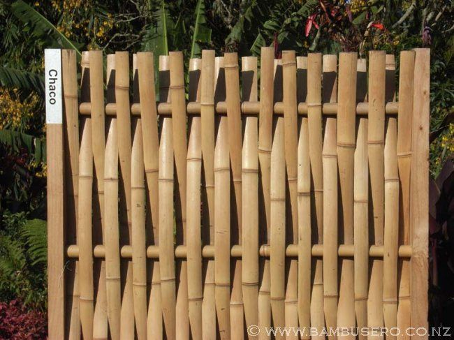 Innovative Bamboo Fence Design Oda Al Bambu Pinterest