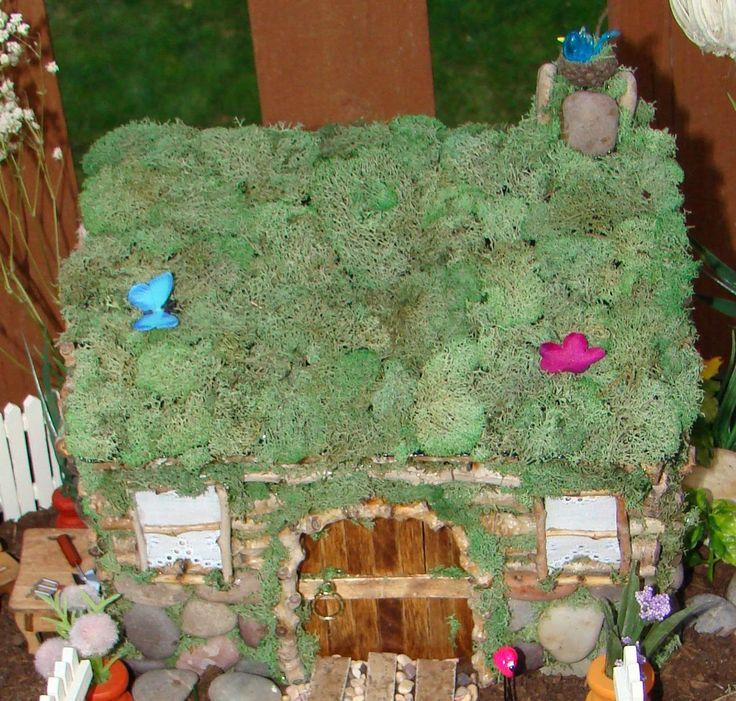 Make Your Own Fairy House Fairy Garden Pinterest