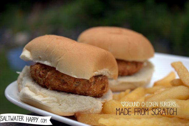 Ground Chicken Burger Recipes — Dishmaps