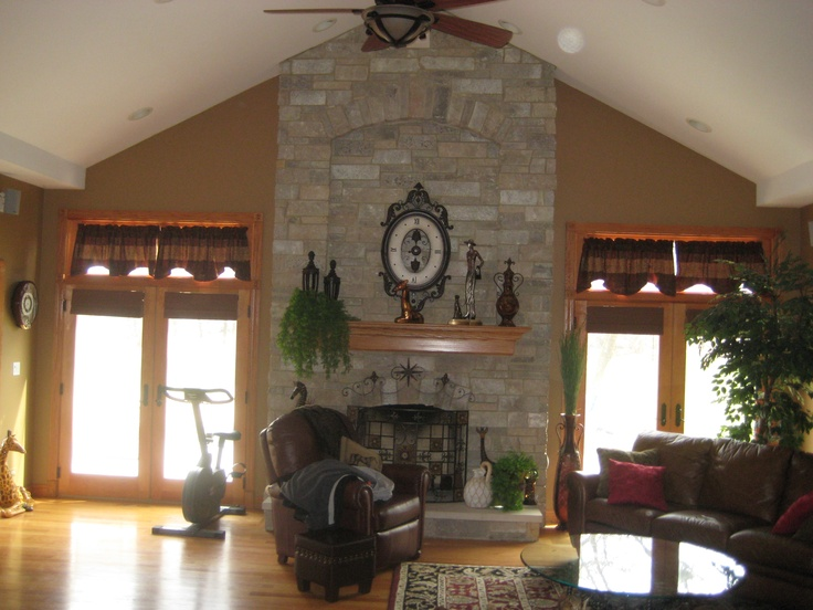 Family room addition neat rooms pinterest for Family room addition pictures