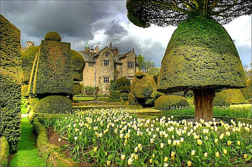 Castle Garden, Levens Hall, Great Britain