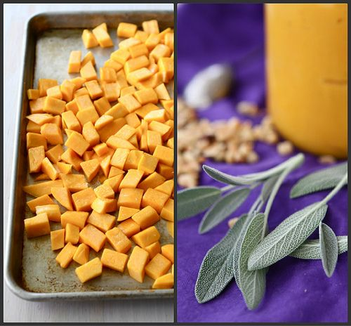 Roasted Butternut Squash & Balsamic Sauce Recipe for Pasta (& Other T...