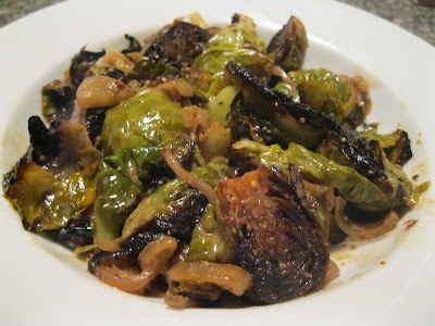 Dijon Braised Brussel Sprouts If I could only eat one food for the ...
