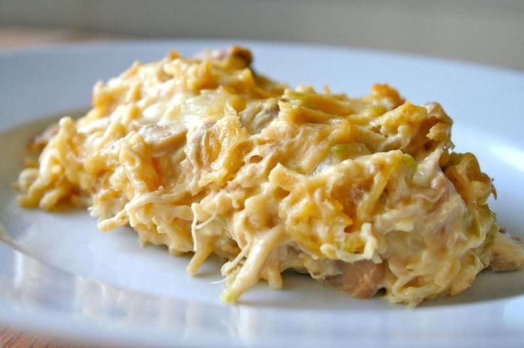 Chicken Tetrazzini - Sub real cheese for American cheese and this ...