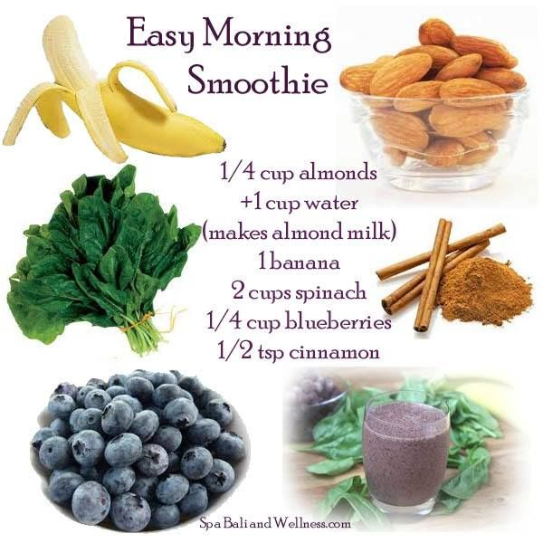 Easy Morning Smoothie | My Smoothie Style | Pinterest