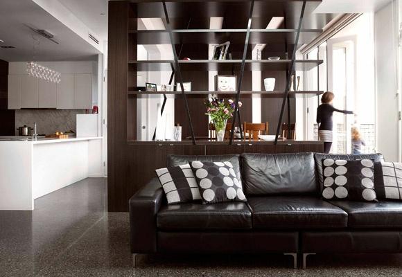 floor to ceiling room divider. Black Bedroom Furniture Sets. Home Design Ideas