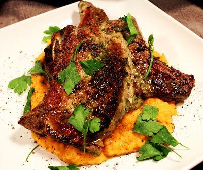 Garlic & Herb Pan Roasted Pork Chops | Yummy | Pinterest