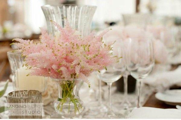 arranjo de mesa casamento
