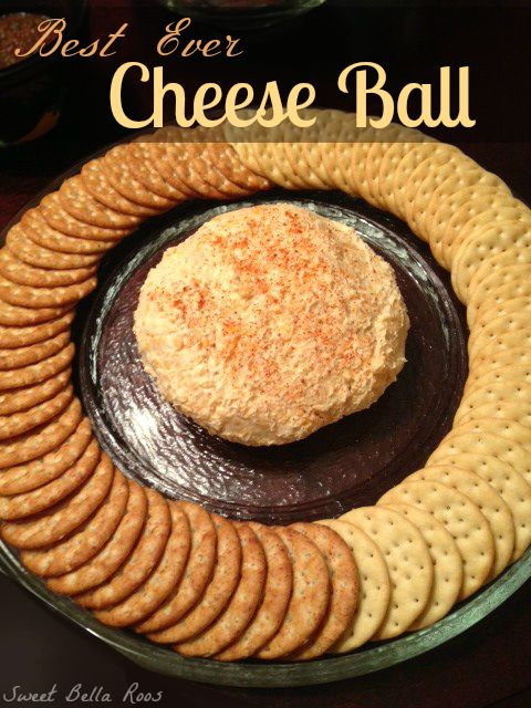 Best Ever Cheese Ball - I love to have a yummy cheese ball at parties!