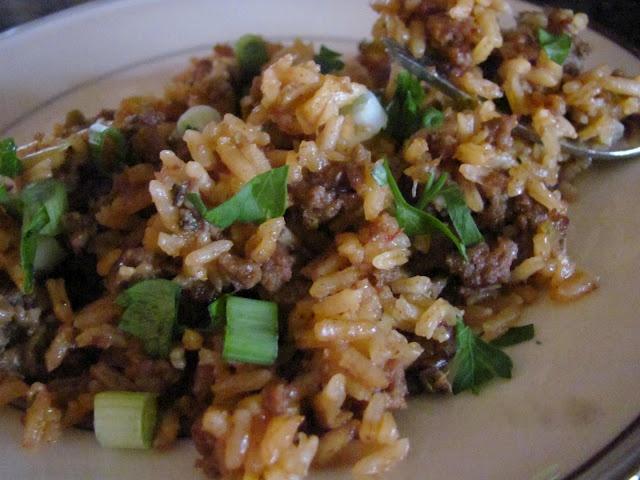 Dirty Rice | Calorie Vault | Pinterest
