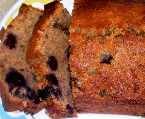 Gluten free blueberry zucchini bread | Breakfast of Champions | Pinte ...