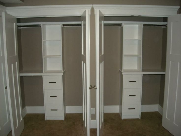 His hers closet decorarte pinterest for His and hers closet