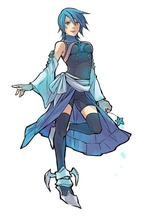 kingdom hearts birth by sleep Aqua Anime/Manga/Cartoons Pinterest
