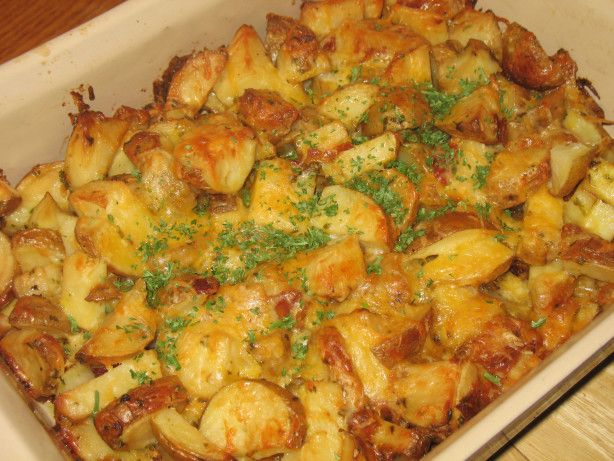 Roasted Red Potatoes With Bacon And Cheese Recipe - Red.Food.com