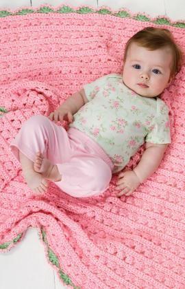 Blossom Blanket Crochet Pattern | Red Heart
