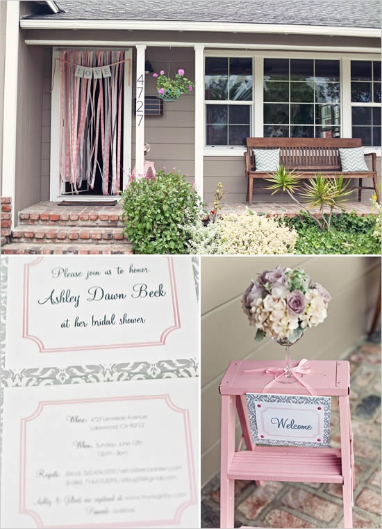 Bridal shower ideas bridal shower for meesh pinterest for Wedding door decorating ideas