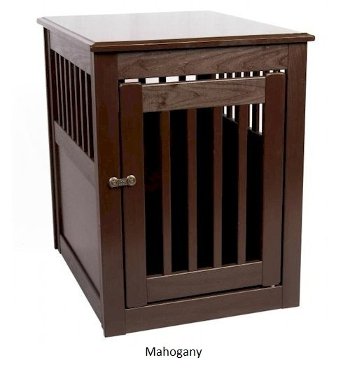 End Table Pet Crate Medium Wooden Dog Crates Pinterest
