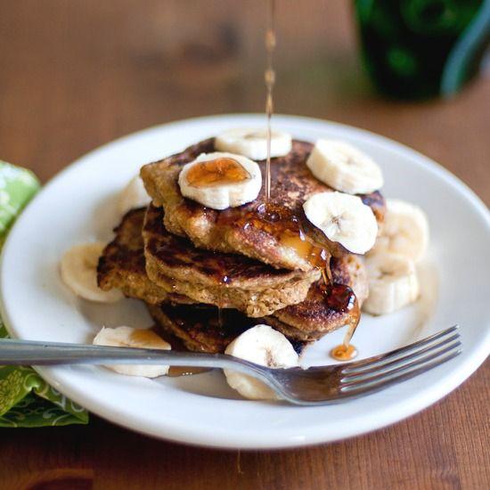 Coconut Banana Pancakes (gluten-free) | Vegetarian Recipes | Pintere ...