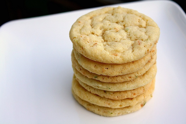 Sugar Cookies? Yes. Lime? Yes. Sounds great. Chewy Lime Sugar Cookies ...