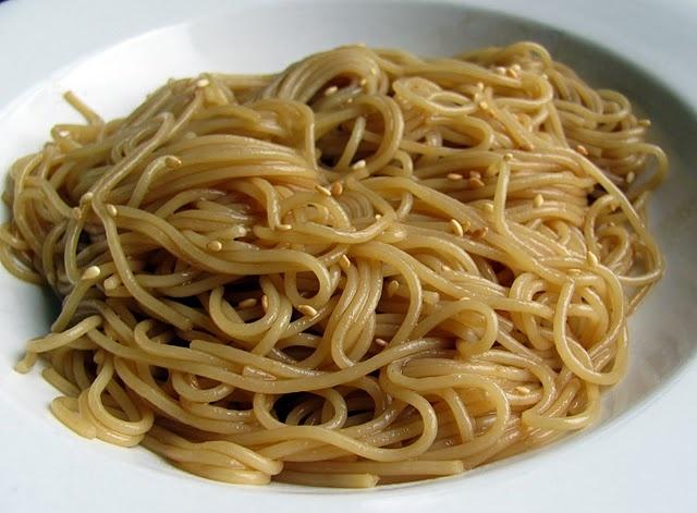 simple sesame noodles | Recipes | Pinterest