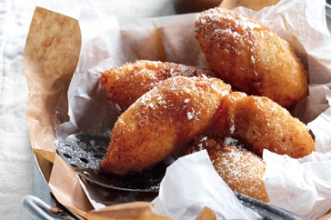 Coconut banana fritters | Indulge | Pinterest