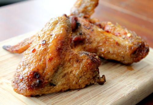 Chicken Wings With Explosive Chile Recipe — Dishmaps