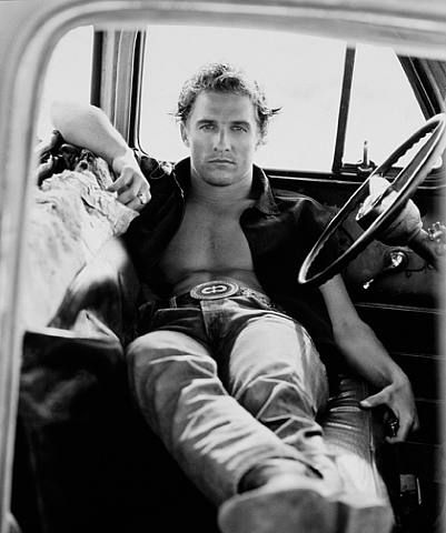 Matthew McConaughey hell yeah I still have this issue of Vanity Fair from like 15 years ago just for these pics