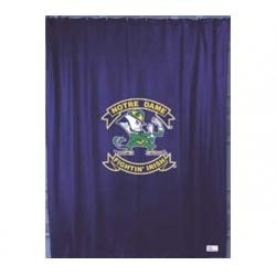 White Lace Swag Curtains Notre Dame Quilt