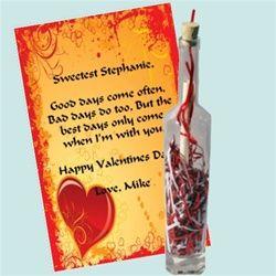 valentine's day gift note