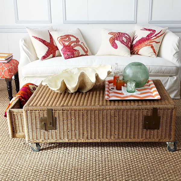 More Like This Trunk Coffee Tables Wicker And Coffee Tables