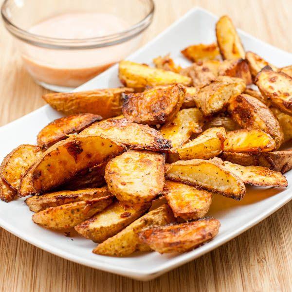 Oven Roasted Potato Wedges | Fish & Co. | Pinterest
