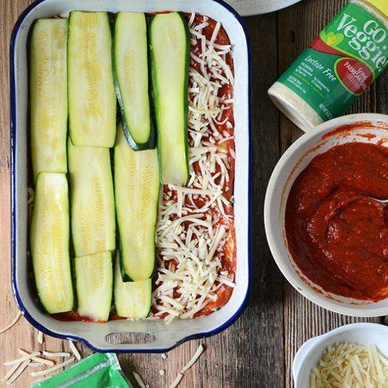 No-Noodle Zucchini Lasagna | eat | Pinterest