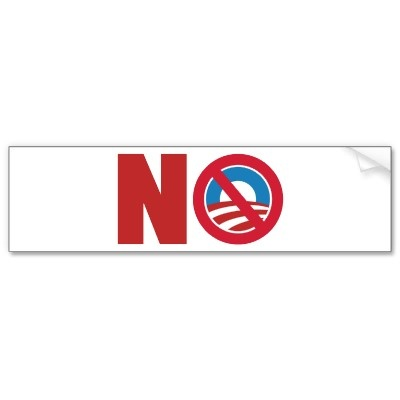 Anti Obama 2012 Bumper Stickers from http://www.zazzle.com/nobama+bumperstickers