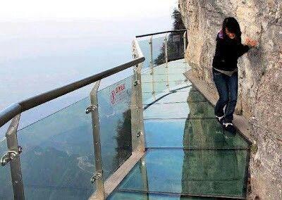Tianmen Mountain Cliff Glass Path, Hunan