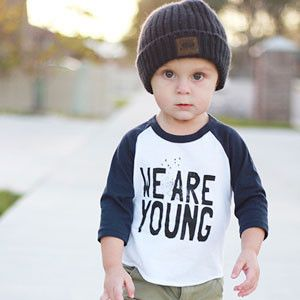Slyfox Threads We Are Young Baseball Tee