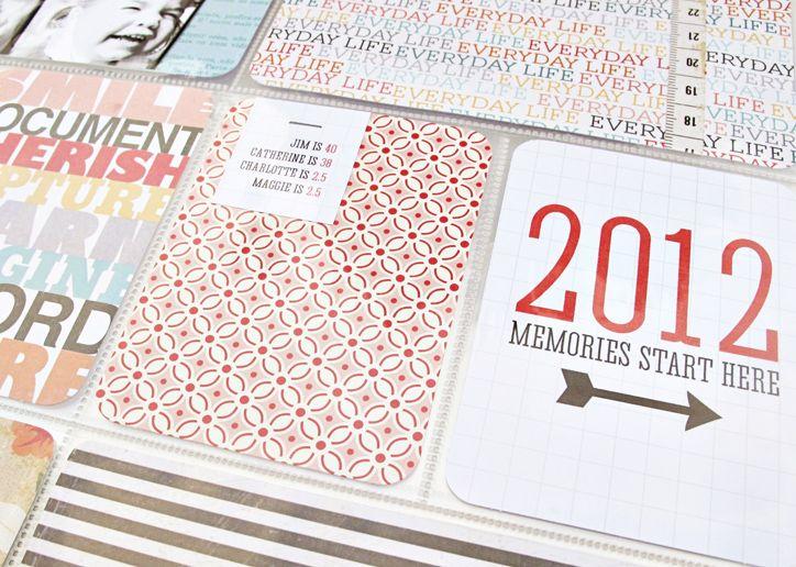 free digital download of 2012 memories start here card